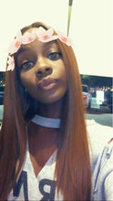"Dee (18""-28"" Straight Rooted Light Auburn Brown Synthetic Heat Safe Lace Front Wig)"