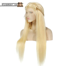 "Bae 2 (Silky Straight 613 Blonde 100% Remy Human Hair 13x6 LF Wig 8""-24"" Avail.)"