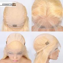 "Cecelia (Silky Straight 613 Blonde 100% Remy Human Hair 13x3 LF Wig 8""-20"" Avail.)"