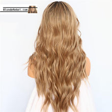 "Jaime (Ombre Bronde Rooted Long Heat Safe Synthetic Lace Front Wig 22""-26"")"