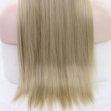 Anais (Ombre Blonde 13x6 Lace Front Free Deep Parting Long Straight Heat Resistant Synthetic Wig)