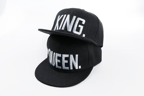 King/Queen (Snapback Baseball Style Cap)