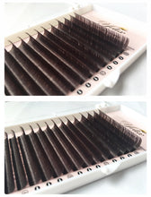 Natural Individual Eyelashes, Faux Mink Eyelash Mix Tray Set