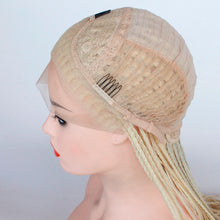 "Daily (613 Blonde Lace Front Long Micro Braided Synthetic Wig w/ Baby Hair, 20""-26"")"
