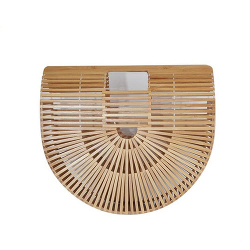 Resort Eco Style Bamboo Hand Made Hand Bag