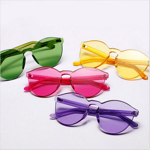 Candy Eyes (Transparent Candy Color Sunglasses & Glasses)