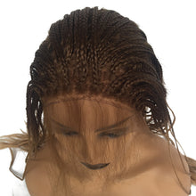 "Bailey 2 (Ombre Rooted Blonde Lace Front Long Micro Braided Synthetic Wig w/ Baby Hair, 20""-26"")"