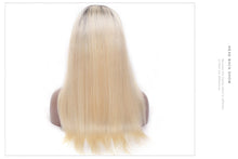 "Darling (Silky Straight Blonde w/ Ombre Roots 1B/613, 13x4 LF 100% Remy Human Hair Wig, 8""-22"" Available)"