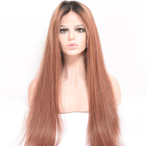 Zealia (#30 Light Auburn Red 13x6 LF 100% Remy Human Hair Wig, 8