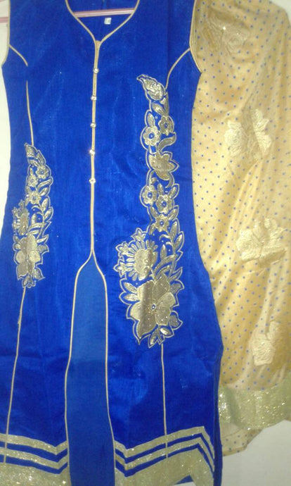 Radiant Blue Readymade Mastani