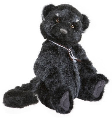 REA is a Plush Binturong (Bearcat!) created by Charlie Bears
