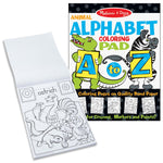Animal ALPHABET Coloring Pad by Melissa and Doug