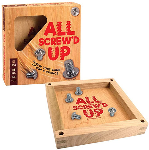 ALL Screwed Up- Screw Toss Game of Risk & Chance- Channel Craft