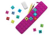 WAFF soft silicone pencil case