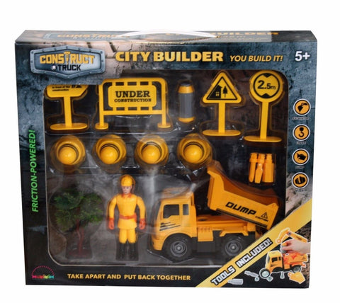 CONSTRUCT A TRUCK - CITY BUILDER EXCAVATION
