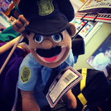 POLICE OFFICER Puppet by Melissa and Doug