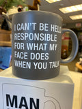 NOVELTY MUGS- Great Cups with Attitude! by About Face Designs