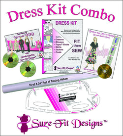 Dress Kit - Choose from Mini, Regular or Maxi Combo (10% discount)