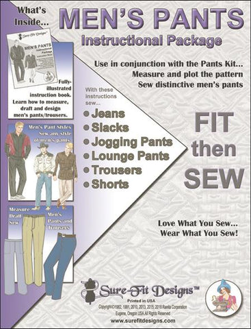 The Sure-Fit Designs™ Men's Instructional Package