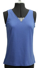 Tank Top with lace insert