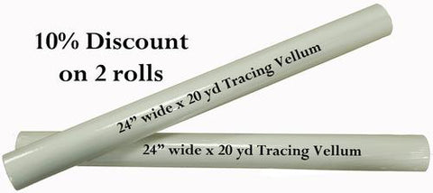 2x20yd Tracing Vellum - Save 10%