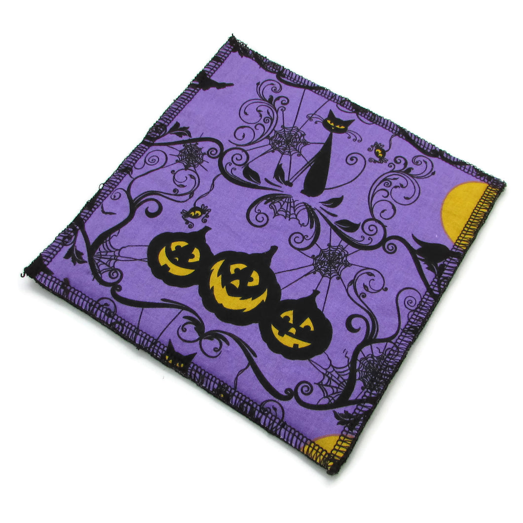 Purple Halloween Dishcloths - Nature Junkie