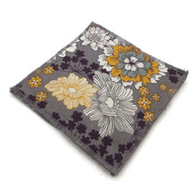 Purple & Yellow Floral Dishcloths