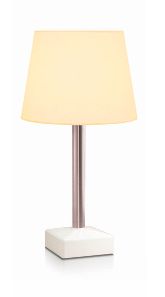 HiLight Stainless Stem Conical Pale Beige Shade 25cm