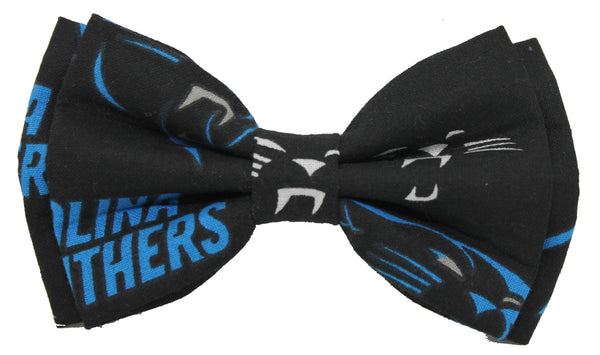 Carolina Panthers Bow Tie