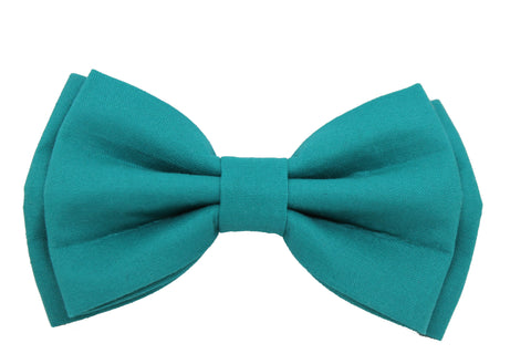 Teal Men's Bow Tie