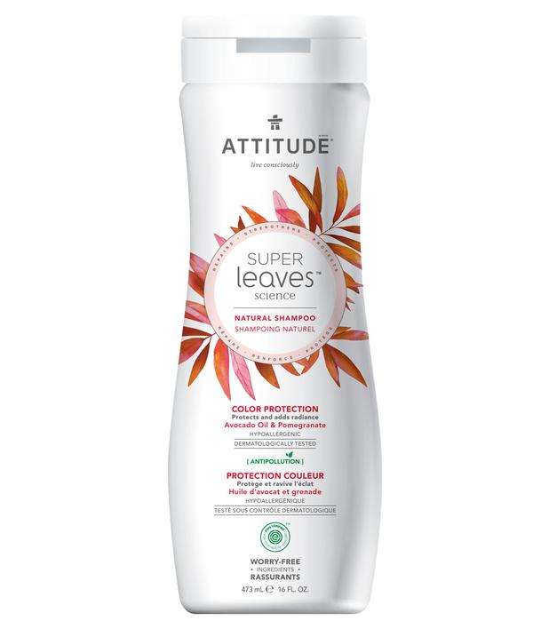 Shampoo Natural Attitude - Protección Color  473ml