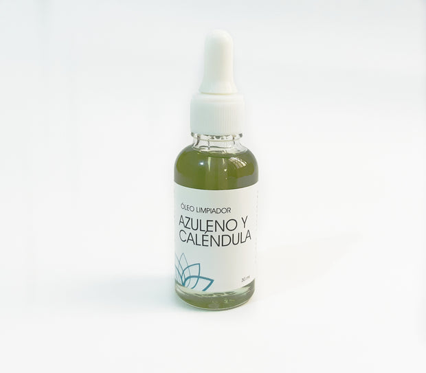 Óleo Limpiador Azuleno y Caléndula The zen Box - 30ml