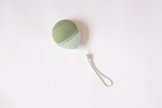 Face Brush Silicona Verde - Aluvia