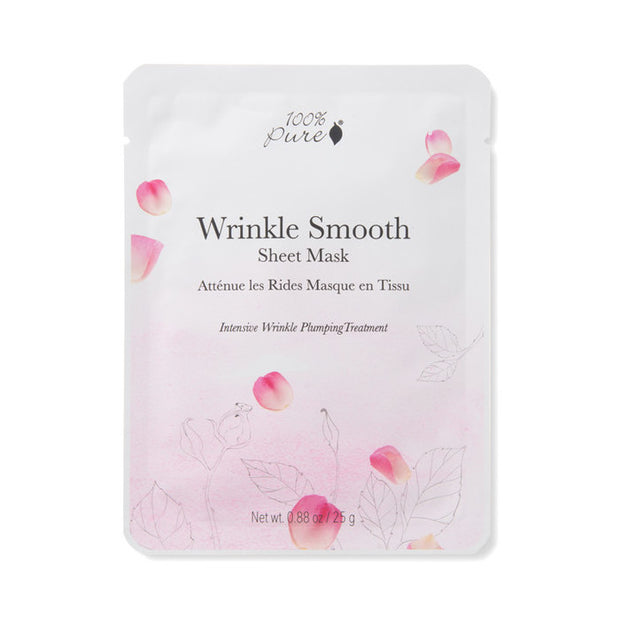 Wrinkle Smooth Sheet Mask 100% Pure - Mascarilla Antiaging