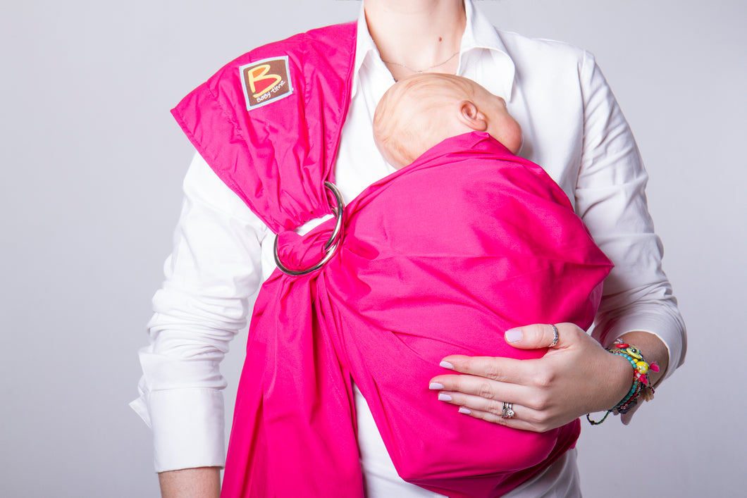baby sling fucsia