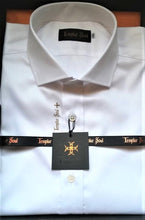 Chemise en oxford royal Made in France - impression Templar Soul