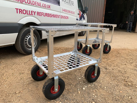 Fruit Picking Trolley