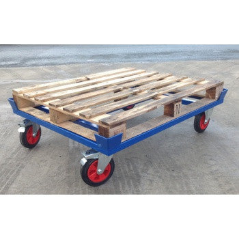 Pallet Dollies For Storing Pallets