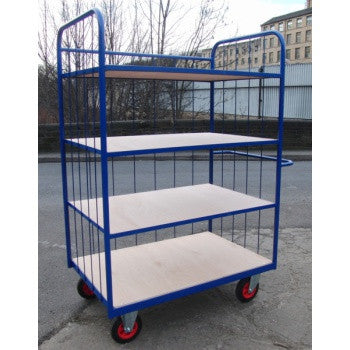Trolleys With Shelves - Manual Handling
