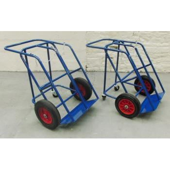 Double Cylinder Trolley, 4 Wheels - CDIGT04