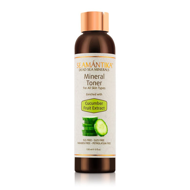 Mineral Toner - Cucumber Fruit Extract