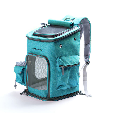 Pawfect Pets Soft-Sided Pet Carrier Backpack