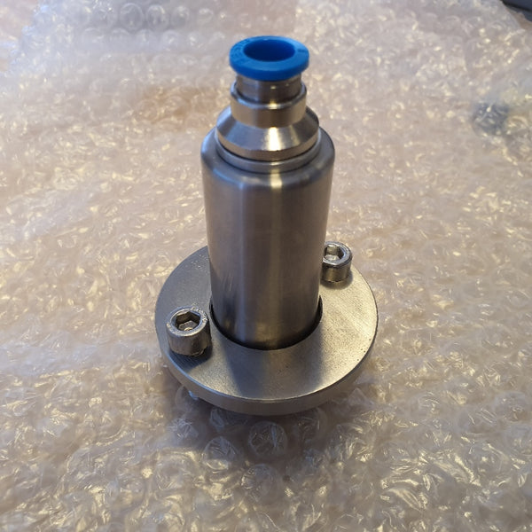 KT1100013A - NON RETURN VALVE WITH QUICK RELEASE 6MM ID PLAIN ASSEMBLY for a King Technofill Filling Machine