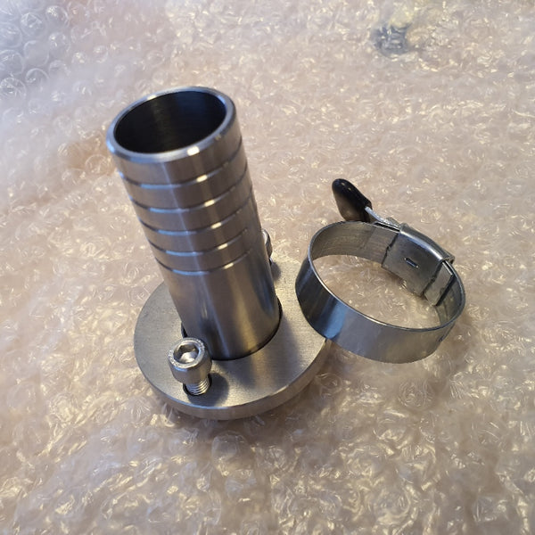 KT25002 - 25-4mm Inlet Assembly Straight for a bottle filling machine