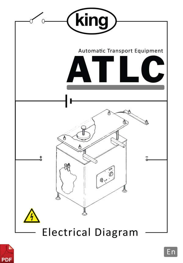King ATLC Automatic Transport Equipment Tablet and Capsule Counter Electrical Diagram and Circuit Description