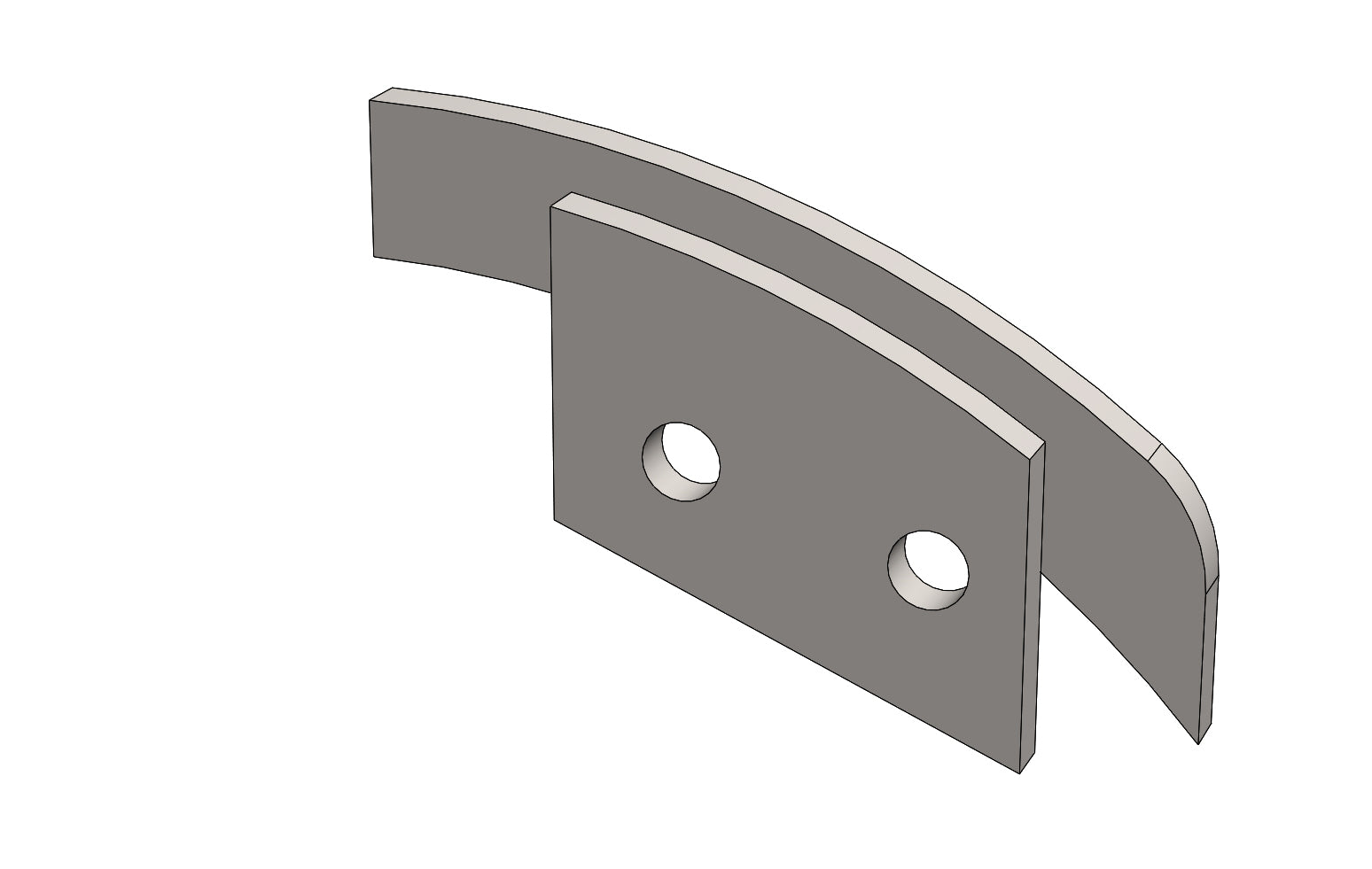 C00828 - LOBE and BRACKET - King CF100 Spare Part