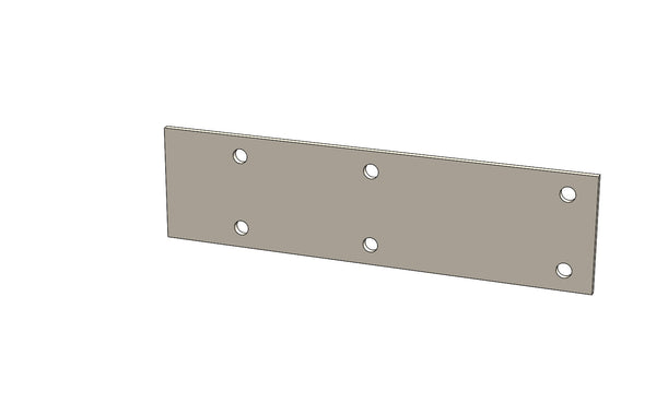 C01066 - CARRIAGE SLIDE PLATE - King CF100 Spare Part