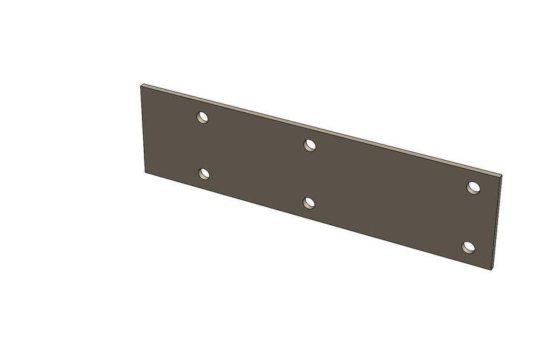 C01067 - Carriage Guide Plate Bottom - King CF100 Spare Part