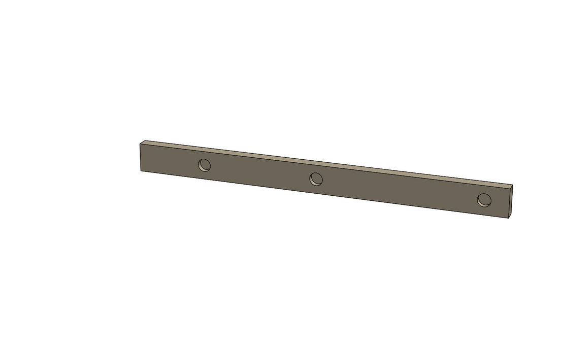 C01068 - CARRIAGE KEEP PLATE - King CF100 Spare Part