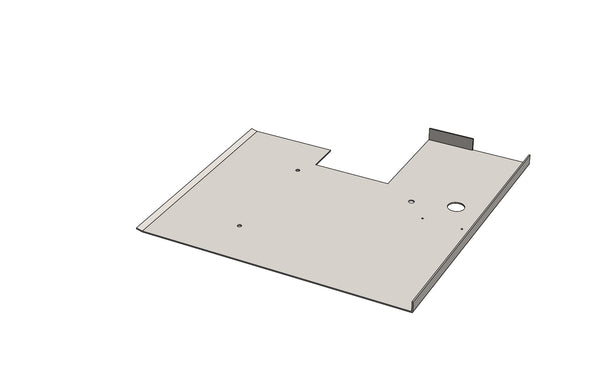 C01111 - Cover Plate - King CF100 Spare Part
